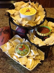 Party package pic with football